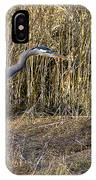 Heron In The Grass IPhone Case