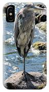 Heron On One Leg IPhone Case