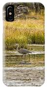 Heron On Snake River No. 2 - Grand Tetons IPhone Case