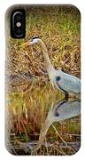 Heron Reflection IPhone Case