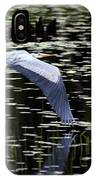 Heron Take Off IPhone Case