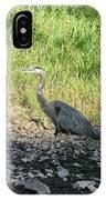 Heron Travels  IPhone Case