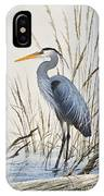 Herons Natural World IPhone Case