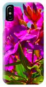 Hervey Bay Flowers IPhone Case