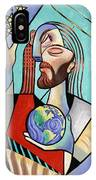 Hes Got The Whole World In His Hand IPhone Case