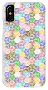 Hexagonal Cubes IPhone Case