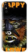 Hh Wolfman Card Style IPhone Case