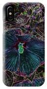 Hibiscus At Midnight IPhone Case
