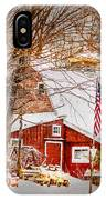 Hickory Lake Woodworks IPhone Case