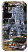 Hidden Falls 6 IPhone Case