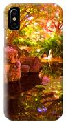 Hidden Pond IPhone Case