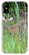 Hiding Deer IPhone Case