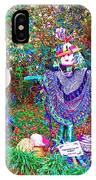 High Satch Scarecrow In A Hat IPhone Case