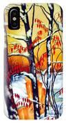 Highland Creek Sunset 2  IPhone Case