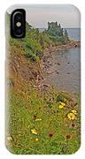 Highlands Coastline In Cape Breton Highlands Np-ns IPhone Case