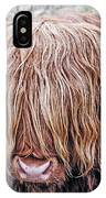 Highlands Coo IPhone Case
