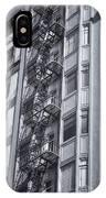 Highrise Fire Escape Selenium IPhone Case