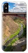 Highway 97 Bridge IPhone Case