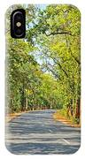 Highway In The Forest IPhone Case