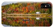 Highway Through Fall Forest IPhone X Case