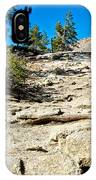 Hikers On Sentinel Dome Trail In Yosemite Np-ca  IPhone Case