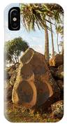 Hikina'akala Heiau, Wailua River State IPhone Case