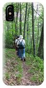 Hiking Group IPhone Case