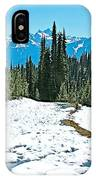 Hiking In Spring In Revelstoke National Park-british Columbia  IPhone Case