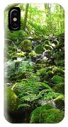 Hiking The Falls IPhone Case
