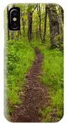 Hiking Through The Blue Ridge I IPhone Case