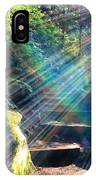 Hiking Trail Sun Flares IPhone Case