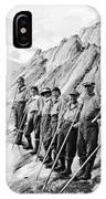 Hiking Up Mt. Rainier IPhone Case