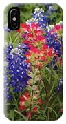 Hill Country Bloom IPhone Case