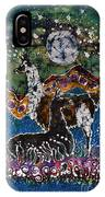 Hills Alive With Llamas IPhone Case