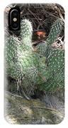 Hillside Cactus Plant IPhone Case