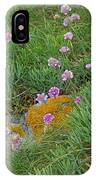 Hillside Of Wildflowers IPhone Case