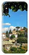 Hillside Tuscan Village  IPhone Case