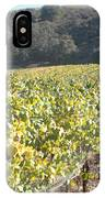 Hillside Vineyard IPhone Case
