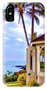 Hilton Waikoloa Gazebo IPhone Case
