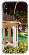Hilton Waikoloa Village Gazebo IPhone Case