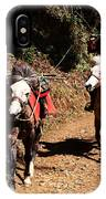 Himalayan Horseman - Nepal IPhone Case