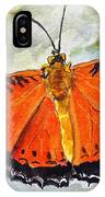 Himalayan Red Lacewing IPhone Case