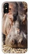 Hippo Mug Shot IPhone X Case