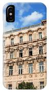 Historic Apartment House In Budapest IPhone Case
