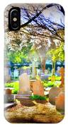 Historic Cemetery  IPhone Case