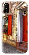 Historic Charleston - Pirate House IPhone Case
