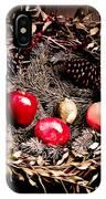 Historic Christmas Wreath IPhone Case