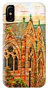 Historic Churches St Louis Mo - Digital Effect 6 IPhone Case