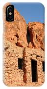 Historic Civilian Conservation Corps Stone Cabins In The Valley Of Fire IPhone Case