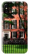 Historic Homes Of Beacon Hill, Boston IPhone Case